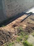 Randsteine für den Mülltonnenplatz